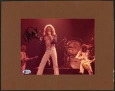 Robert Plant Led Zeppelin Signed Mounted Photo Autographed BAS #D43213