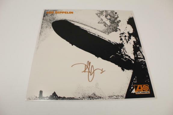 Robert Plant Signed Autograph 12x12 Led Zeppelin Album Flat - Legend, Real Coa