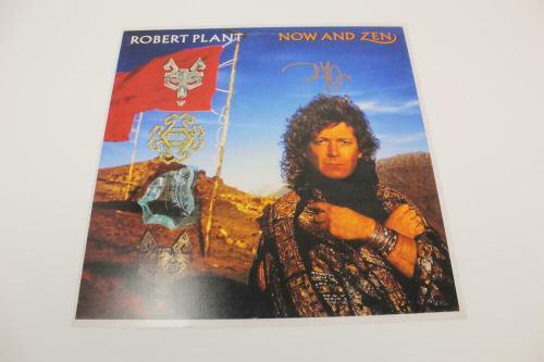 Robert Plant Signed Autograph 12x12 Now And Zen Album Flat - Led Zeppelin, Real