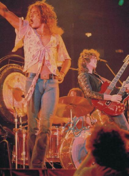 Robert Plant Signed Autograph 12x16 Photo - Legendary Led Zeppelin Singer, Ii Iv
