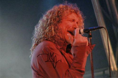 Robert Plant Signed Autograph 8x12 Photo - Led Zeppelin Iconic Singer, Rare Real
