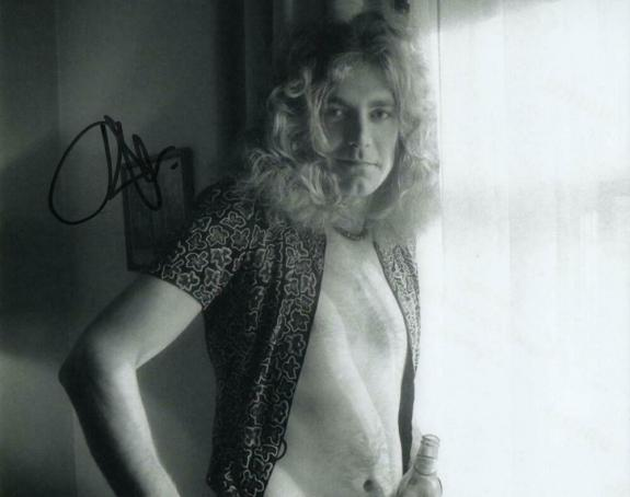 Robert Plant Signed Autograph 8x10 Photo - Led Zeppelin Ii Iii Iv Rock Icon Real