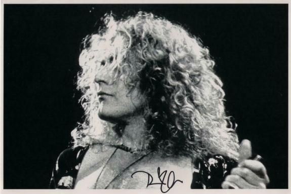 Robert Plant Signed Autograph 8x12 Photo - Led Zeppelin Ii Iv Rock Legend, Real