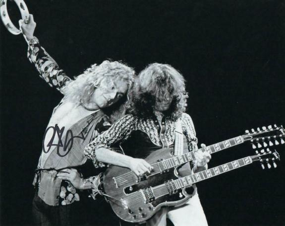 Robert Plant Signed Autograph 8x10 Photo - Led Zeppelin Rock Icon Very Rare Real