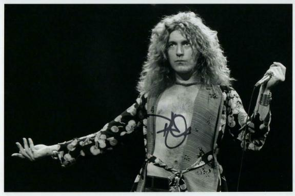 Robert Plant Signed Autograph 8x12 Photo - Led Zeppelin, Rock Legend Real Coa