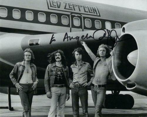 Robert Plant Signed Autograph 8x10 Photo - Led Zeppelin, Rock Legend, Real Coa