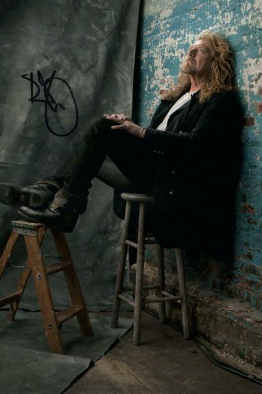 Robert Plant Signed Autograph 8x12 Photo - Led Zeppelin Ii Ii Rock Legend Real