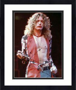 Robert Plant Signed Autograph 8x10 Photo - Led Zeppelin Shitless Singer, Rare!