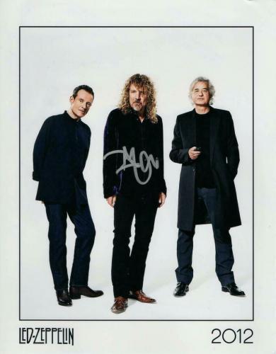 Robert Plant Signed Autograph 8x10 Photo - Legendary Led Zeppelin Singer, Promo