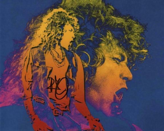 Robert Plant Signed Autograph 8x10 Photo - Legendary Led Zeppelin Singer, Rare!