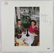 "Robert Plant Signed Led Zeppelin ""presence"" Album Old Signature! Psa/dna W24978"