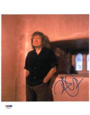 Robert Plant Signed Led Zepplin Authentic Autographed 8x10 Photo PSA/DNA #V20437