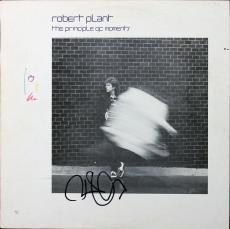 Robert Plant Signed The Principle of Moments Album Cover W/ Vinyl JSA #Y76934