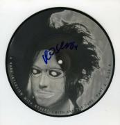 Robert Smith Cure Autographed Signed Album 45 Record Certified Authentic JSA COA