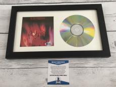 Robert Smith Signed The Cure Pornography CD Cover Framed Beckett BAS COA a