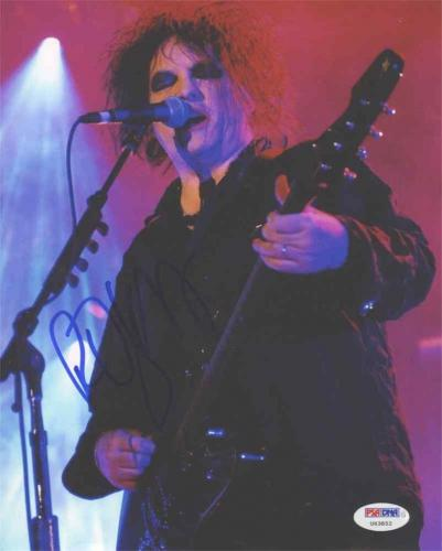 Signed Robert Smith Photograph - The Cure 8x10 Certified Authentic PSA DNA
