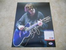 Robert Smith The Cure Signed Autographed 11x14 Promo Photo PSA Certified #1