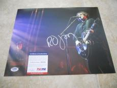 Robert Smith The Cure Signed Autographed 11x14 Promo Photo PSA Certified #3
