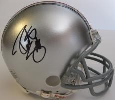 Robert Smith,ohio State Buckyeyes,signed,autographed,mini Helmet,coa,with Proof
