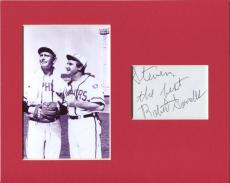 Robert Sorrells Twilight Zone The Mighty Casey Signed Autograph Photo Display