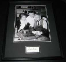 Robert Sterling Signed Framed 16x20 Photo Display Twilight Zone