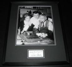 Robert Sterling Signed Framed 16x20 Photo Poster Display Twilight Zone
