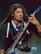 """Robert Trujillo Autographed 8"""" x 10"""" Guitar Photograph - Beckett COA"""