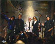 "ROBERT TRUJILLO & KIRK HAMMETT Signed ""METALLICA"" 11x14 Photo BECKETT BAS C34887"