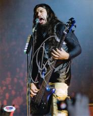 ROBERT TRUJILLO SIGNED AUTOGRAPHED 8x10 PHOTO METALLICA PSA/DNA