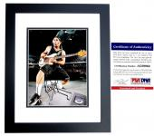 Robert Trujillo Signed - Autographed METALLICA 8x10 inch Photo with PSA/DNA Certificate of Authenticity (COA) BLACK CUSTOM FRAME - Heavy Metal Bassist