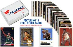 Oscar Robertson -Milwaukee Bucks- Collectible Lot of 15 NBA Trading Cards - Mounted Memories