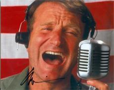 Robin Williams autographed 8x10 photo (Good Morning Vietnam) Image #SC2