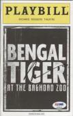 Robin Williams Autographed Bengal Tiger At The Baghdad Zoo Broadway Playbill - PSADNA