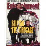 Robin Williams Autographed Entertainment Weekly Magazine - PSA