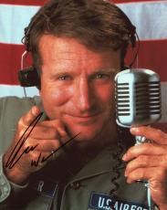 Robin Williams Autographed Good Morning Vietnam  8x10 Photo- SM HOLO