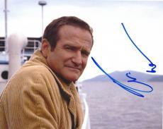 Robin Williams Autographed Signed Boat Photo UACC RD AFTAL COA