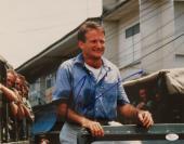 "Robin Williams (d.2014) Actor ""Good Morning Vietnam"" Signed 11x14 Photo -JSA COA"