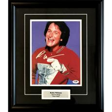 Robin Williams (deceased) Framed Autographed 8X10 Photo
