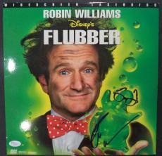"Robin Williams ""flubber"" Movie Signed Autographed Album Cover Jsa Loa #z09516"