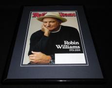Robin Williams Framed 11x14 ORIGINAL 2014 Rolling Stone Magazine Cover