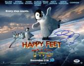 Robin Williams & George Miller - Happy Feet Two Signed 11X14 Photo PSA #W52678