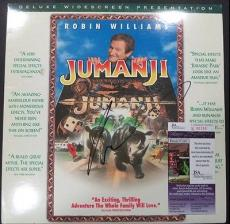 "Robin Williams "" Jumanji "" Jsa Coa Signed Autographed Album Cover Authentic Rare"