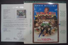 "Robin Williams ""jumanji"" Movie Signed Autographed Album Cover Jsa Loa #z09379"