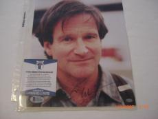 Robin Williams Mork And Mindy Actor Deceased Beckett/coa Signed 8x10 Photo