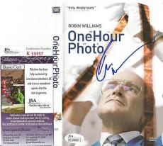 Robin Williams Movie Legend Signed Autographed One Hr Photo Dvd Cover Jsa Coa