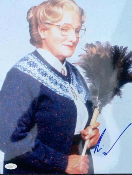 "Robin Williams "" Mrs Doubtfire "" Signed 11x14 Photo JSA"