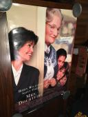 Robin Williams Mrs. Doubtfire Signed Full Size Movie Poster Jsa Authenticated