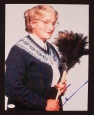 Robin Williams Mrs Doubtfire Signed Jsa Certified 11x16 Photo Autograph
