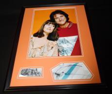 Robin Williams & Pam Dawber Dual Signed Framed Mork & Mindy 16x20 Photo Set B