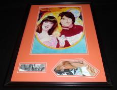 Robin Williams & Pam Dawber Dual Signed Framed Mork & Mindy 16x20 Photo Set